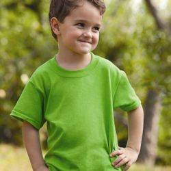 HD Cotton Youth Short Sleeve T-Shirt Thumbnail