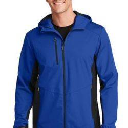 Active Hooded Soft Shell Jacket Thumbnail