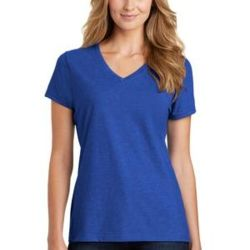 ® Ladies Fan Favorite ™ Blend V Neck Tee Thumbnail