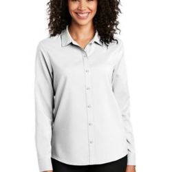® Ladies Long Sleeve Performance Staff Shirt Thumbnail