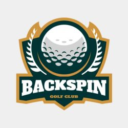 Backspin Golf club logo template Thumbnail