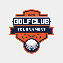 Golf club Tournament logo template 02 Thumbnail