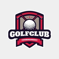 Golf Club Tournament logo template 03 Thumbnail