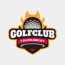 Golf Club Tournament logo template 04 Thumbnail