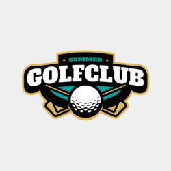 Golf Club Summer logo template Thumbnail
