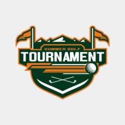 Tournament Summer golf logo template	02 Thumbnail