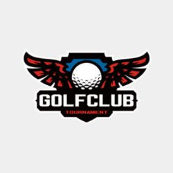 Golf club Tournament logo template 06 Thumbnail